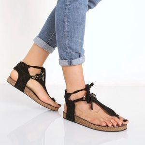 Free People black sandals 40 / 9